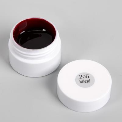 Гель-лак для стемпинга, 3-х фазный, 8 гр, цвет бордовый