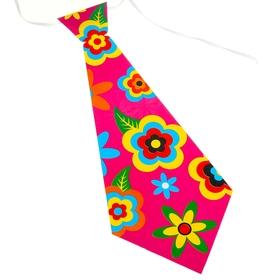 Карнавальный галстук «Цветочная поляна», набор 6 шт. Ош