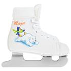 Коньки детские MAGIC, белый цвет, размер 30