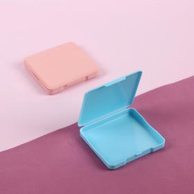 Футляр для хранения мелочей, 6 × 6,5 см, цвет МИКС Ош