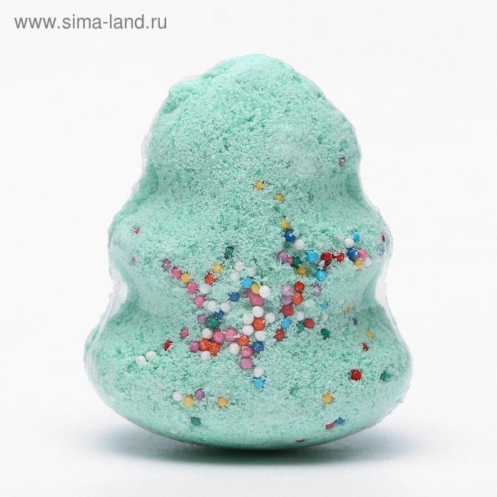 """Бурлящий шар для ванн """"Ёлочка"""", 60 г"""