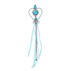 Карнавальный жезл «Фея», цвет голубой Ош