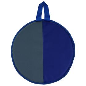 Ледянка, d=33 см, h=10 мм, цвет серый/голубой