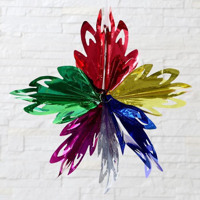 Шар фольгированный Прекрасный цветок 4040 см