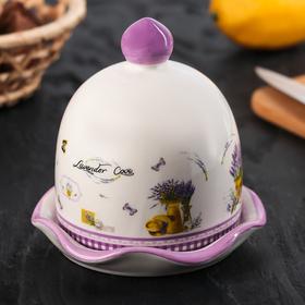 Лимонница «Душистая лаванда», 11,5×11,5×11,5 см, цвет белый Ош