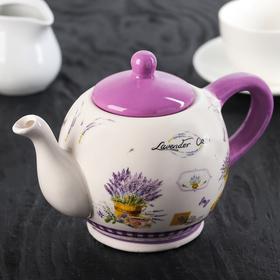 Чайник заварочный «Душистая лаванда», 400 мл, 19,5×12×13 см