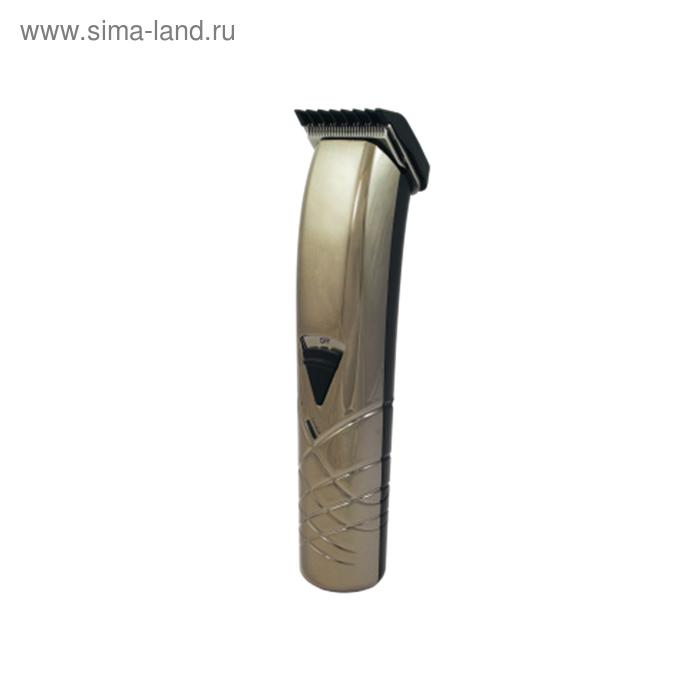 Машинка для стрижки Бердск 5202АС, 4 насадки, 5 установок длины, 3-12мм, автономная