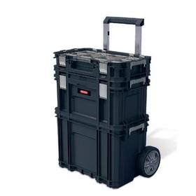 Ящик для инструментов Smart Rolling Work Shop, чёрный