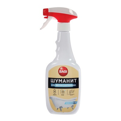 Чистящее средство для сантехники Bagi «Шуманит», 500 мл 3983 - Фото 1