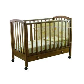 Кроватка детская «Фея 600» тёмный мёд
