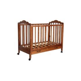 Кроватка детская «Фея 620» тёмный мёд