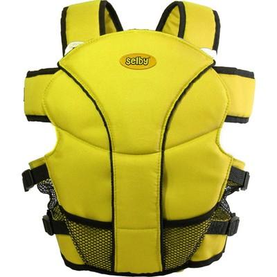 Рюкзак кенгуру Selby Люкс жёлтый - Фото 1
