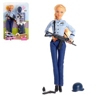 Кукла модель Policewomen с аксессуарами, МИКС