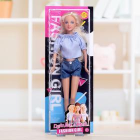 Кукла модель «Оля» с длинными волосами, МИКС