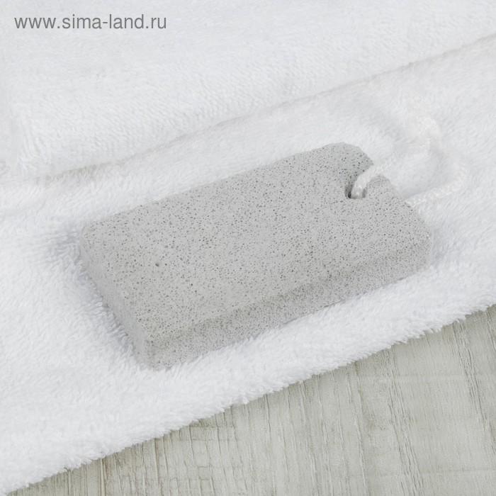 Пемза для педикюра, 9,5 × 5 см, цвет белый