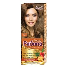 Крем-краска для волос Рябина Avena, тон 014, русый
