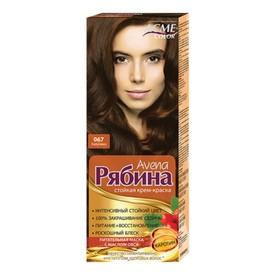 Крем-краска для волос Рябина Avena, тон 067, капучино