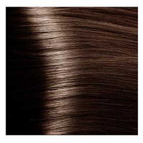 Крем-краска для волос Kapous с гиалуроновой кислотой, 5.31 Светлый коричневый, золотистый, бежевый, 100 мл