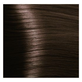 Крем-краска для волос Kapous с гиалуроновой кислотой, 4.3 Коричневый золотистый, 100 мл