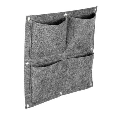 Фитомодуль, 4 кармана, 35 × 35 см, полиэстер - Фото 1