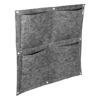 Фитомодуль, 4 кармана, 50 × 50 см, полиэстер - Фото 1