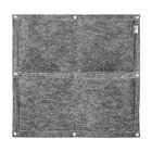 Фитомодуль, 4 кармана, 50 × 50 см, полиэстер - Фото 2