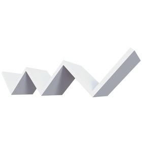 Полка «Париж», 79 × 15 × 15 см, цвет белый