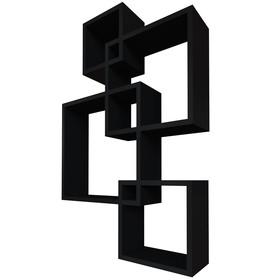 Комплект полок «Токио», цвет чёрный
