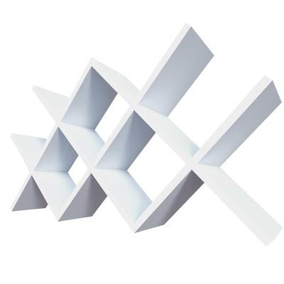 Полка «Рим», 100 × 52 × 15 см, цвет белый - Фото 1
