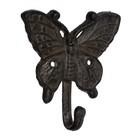 Крючок «Бабочка, стрекоза, божья коровка», чугун, форма МИКС