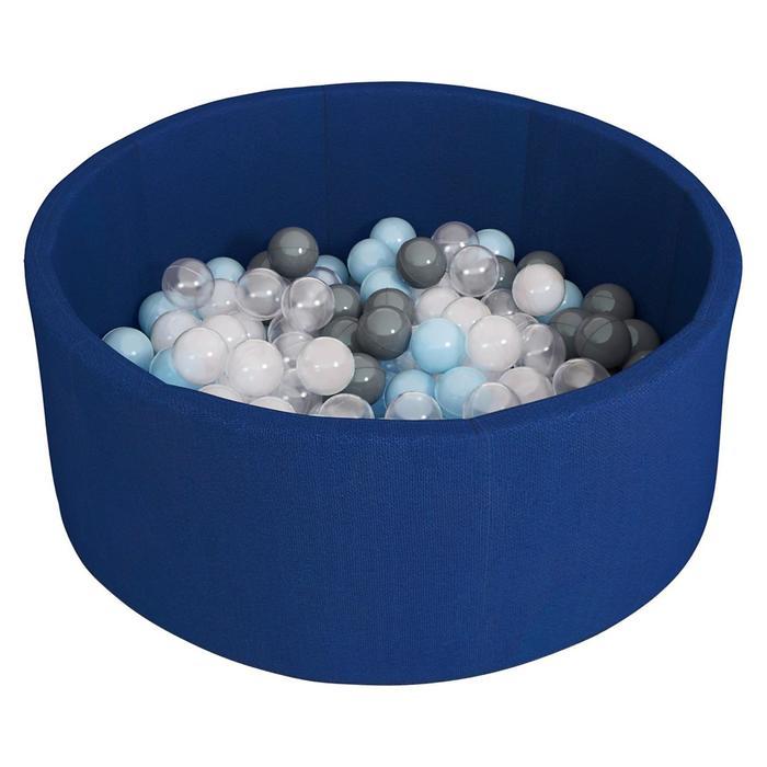 Сухой бассейн Airpoo, цвет тёмно-синий