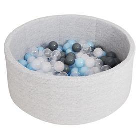 Сухой бассейн Airpoo, цвет серый