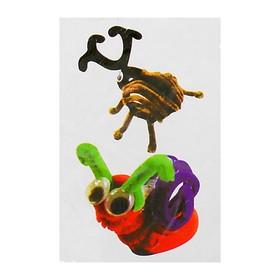 Набор для создания игрушки из меховых палочек и помпошек «Жук и улитка» Ош