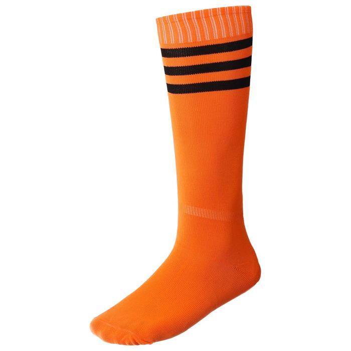 Гетры футбольные, размер 38-40, цвет оранжевый