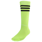 Гетры футбольные размер 38-39, цвет салатовый