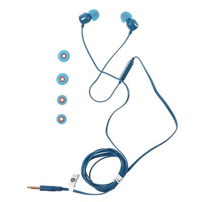 Наушники JBL Tune 110, вакуумные, микрофон, 96 дБ, 16 Ом, 3.5 мм, 1.1 м, синие - Фото 1