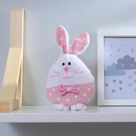Мягкая игрушка «Кролик», с бантиком, цвета МИКС Ош