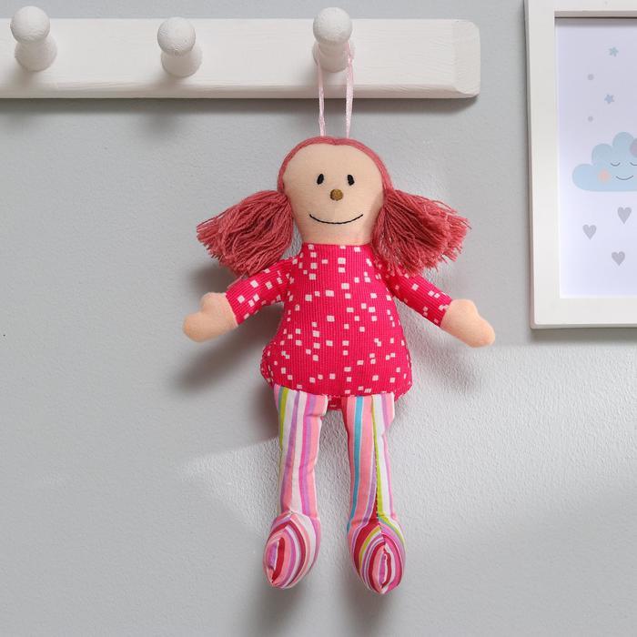 Подвеска Девчуля, кукла, цвета МИКС