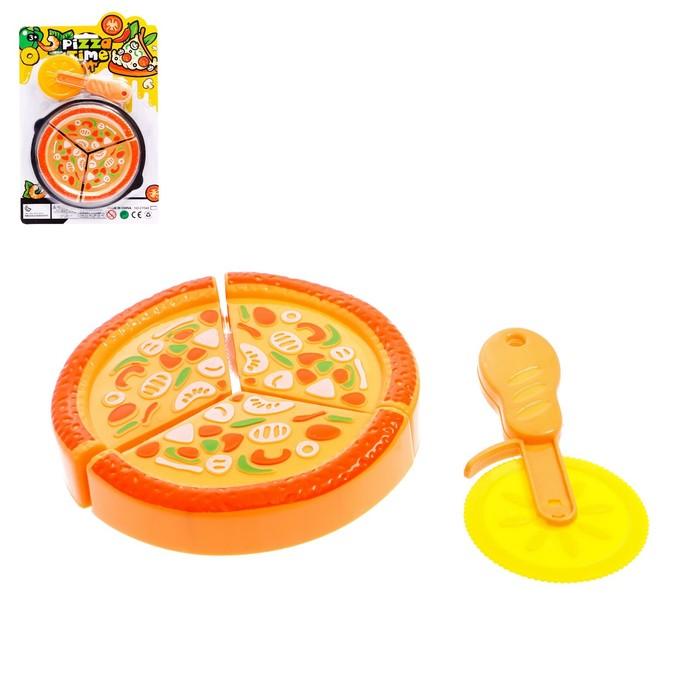 Игровой набор продуктов на липучке «Пицца Маргарита»