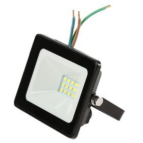 Прожектор светодиодный TDM 'Народный' СДО-04-010Н, 10 Вт, 6500 К, IP65, черный Ош