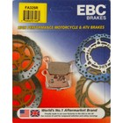 Колодки тормозные, FA325R, EBC Brakes