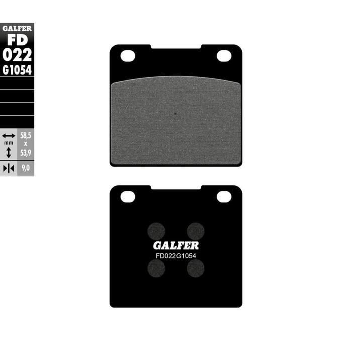 Колодки тормозные Galfer, FD022G1054