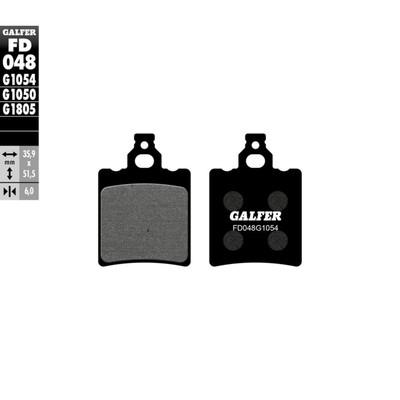 Колодки тормозные Galfer, FD048G1054 - Фото 1