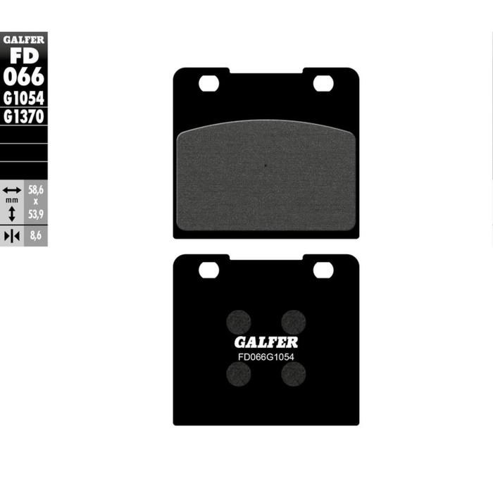 Колодки тормозные Galfer, FD066G1054