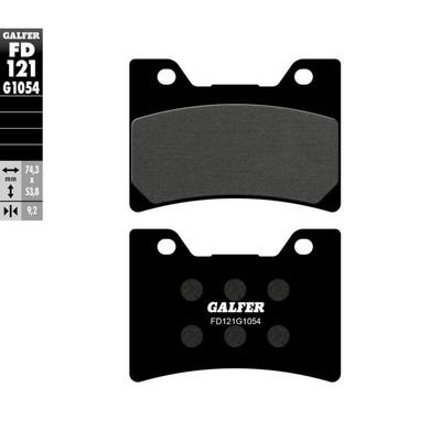 Колодки тормозные Galfer, FD121G1054 - Фото 1
