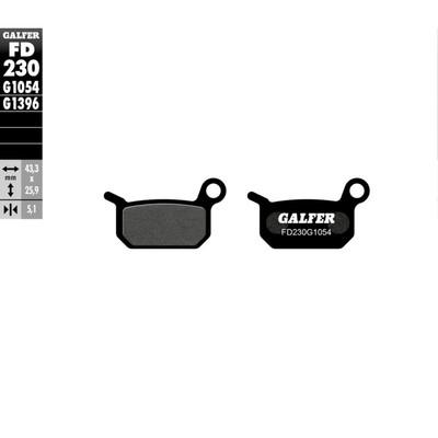 Колодки тормозные Galfer, FD230G1054