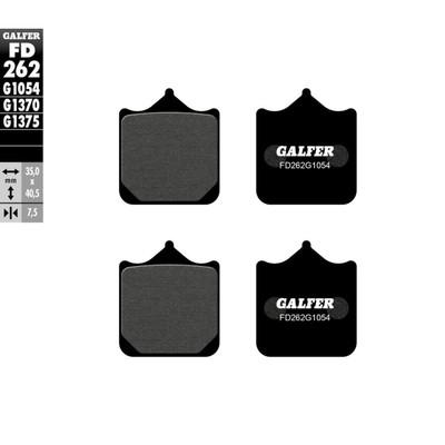 Колодки тормозные Galfer, FD262G1054