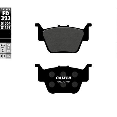 Колодки тормозные Galfer, FD323G1054