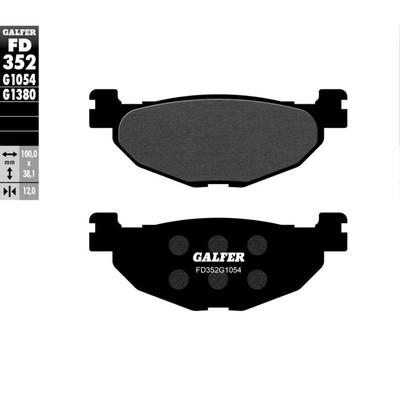 Колодки тормозные Galfer, FD352G1054 - Фото 1