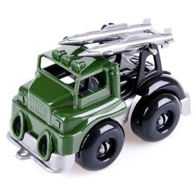Автомобиль ракетный комплекс «Вжух на войнушке», 10 см